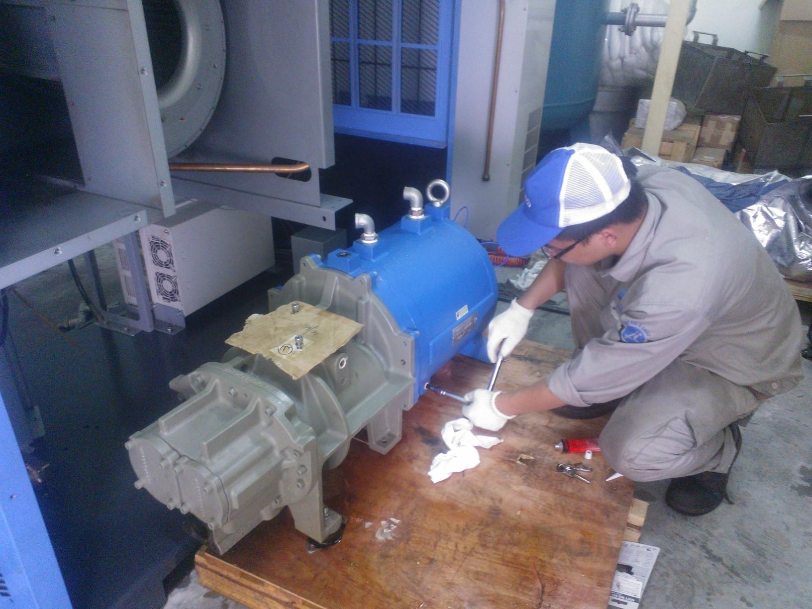 Cách khắc phục lỗi cơ bản của máy nén khí trục vít ngâm dầu ...