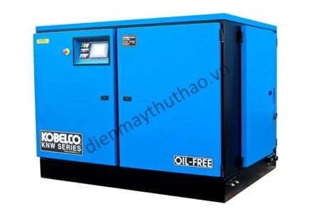 Máy nén khí không dầu Kobelco được người dùng rất tin tưởng sử dụng