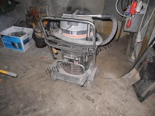 Sử dụng máy hút bụi công nghiệp cũ sau một thời gian ngắn lực hút sẽ yếu đi